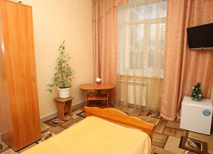 Одноместный номер «Эконом». Фото: baston-hotel.ru