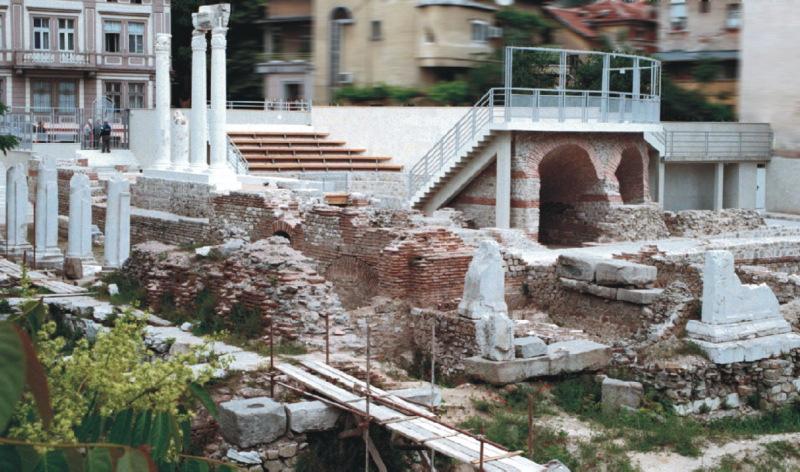 Руины Римского форума.