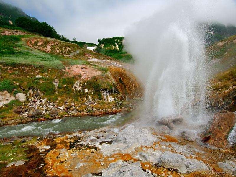 Долина гейзеров. Фото: Шпиленок И., www.kronoki.ru