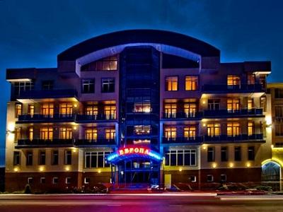 Отель «Европа». Фото: www.europe-anapa.ru