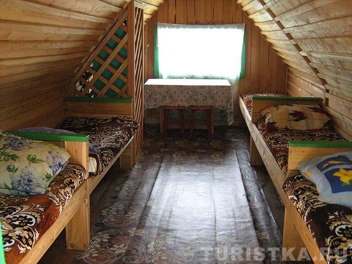 Мансарда летнего домика. Фото: www.turistka.ru