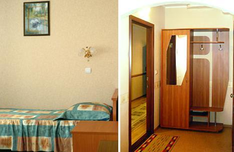 Двухместный номер. Фото: www.elechotel.ru