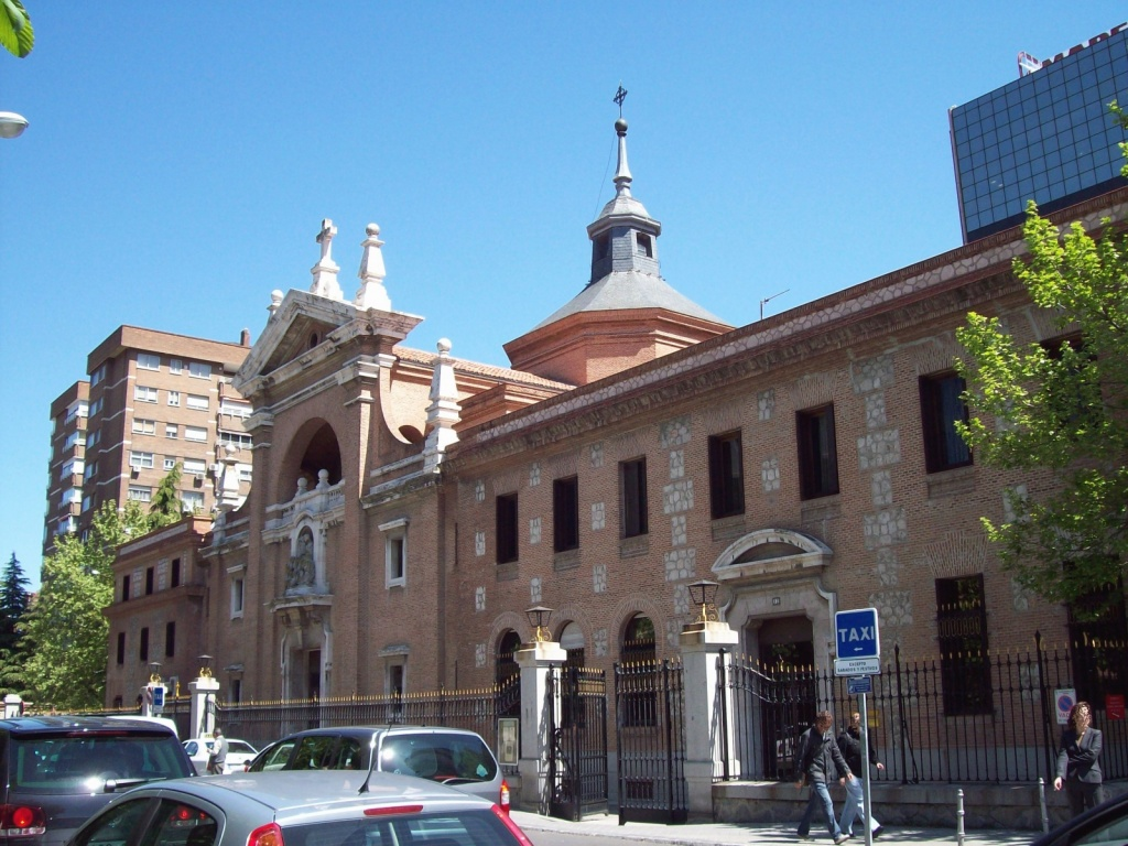 Церковь монастыря Репарадорас. Автор: Luis García. Фото:   wikimedia.org