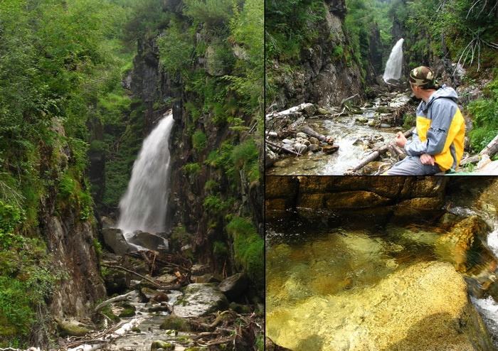 """Водопад """"Сказка"""". Фото: denis-emelin.coolaps.com"""