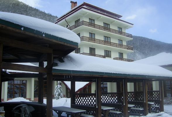 Территория отеля. Фото: www.verticalhotel.com