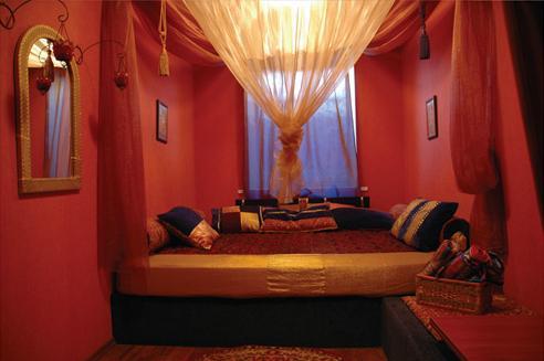 Комната в стиле Восток. Фото: www.four-rooms.ru