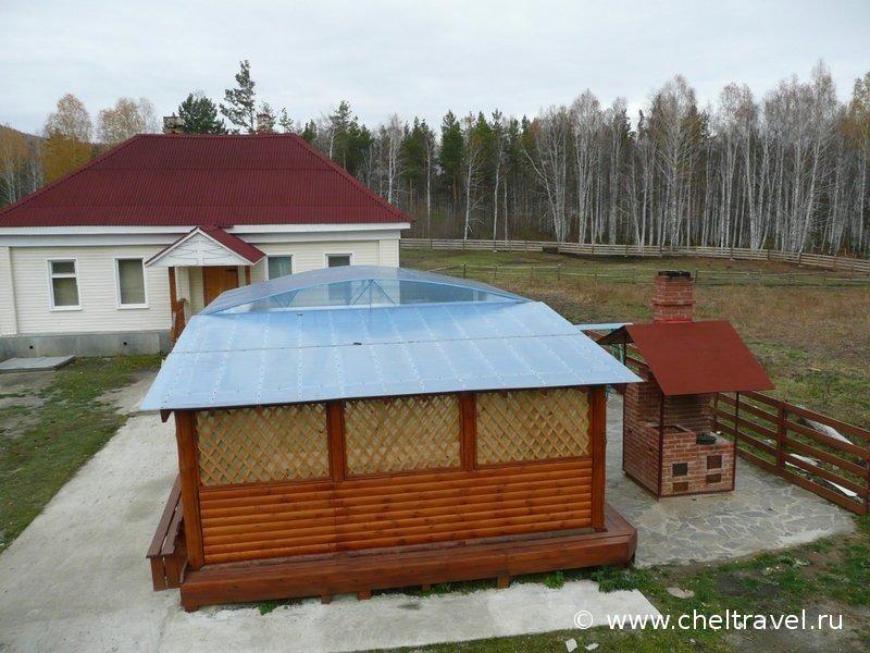Территория базы. Фото: www.zinur.cheltravel.ru