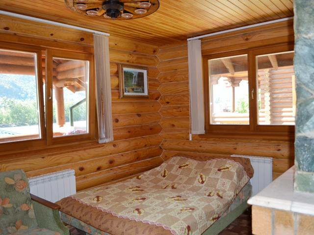Спальня в гостевом домике
