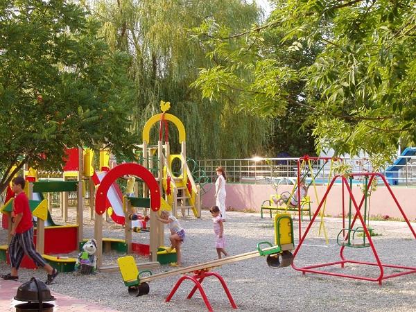 Детская площадка. Фото: www.pansionat-parus.ru