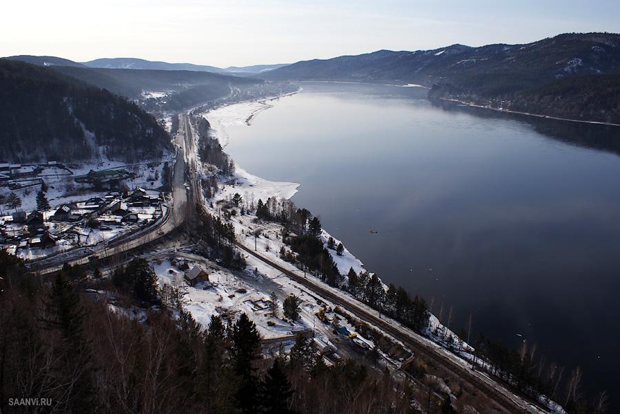 Вид, открывающийся со смотровой площадки. Автор: Анатолий Савенков. Фото с сайта:  saanvi.ru