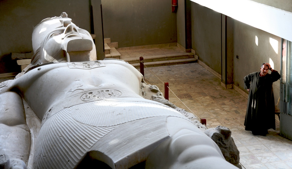 Статуя Рамсеса II в музее Мемфиса. Автор: walter sedriks. Фото:  www.flickr.com
