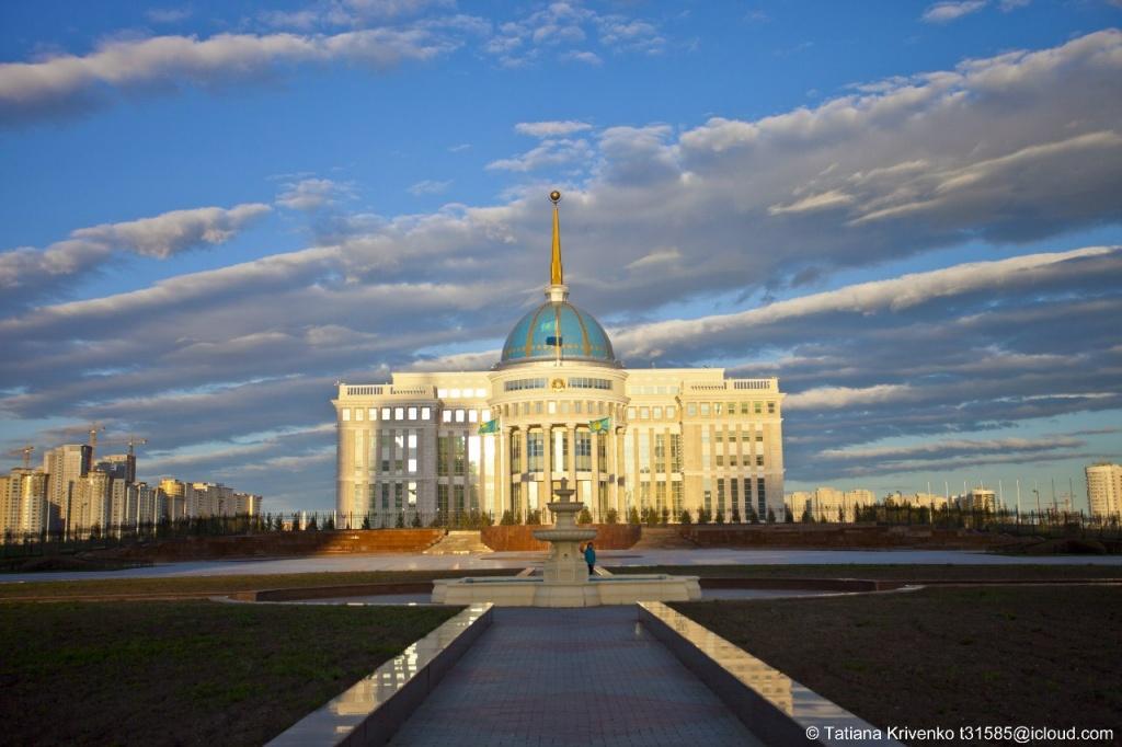 Резиденция Президента «Ак-Орда». Автор: Татьяна Кривенко