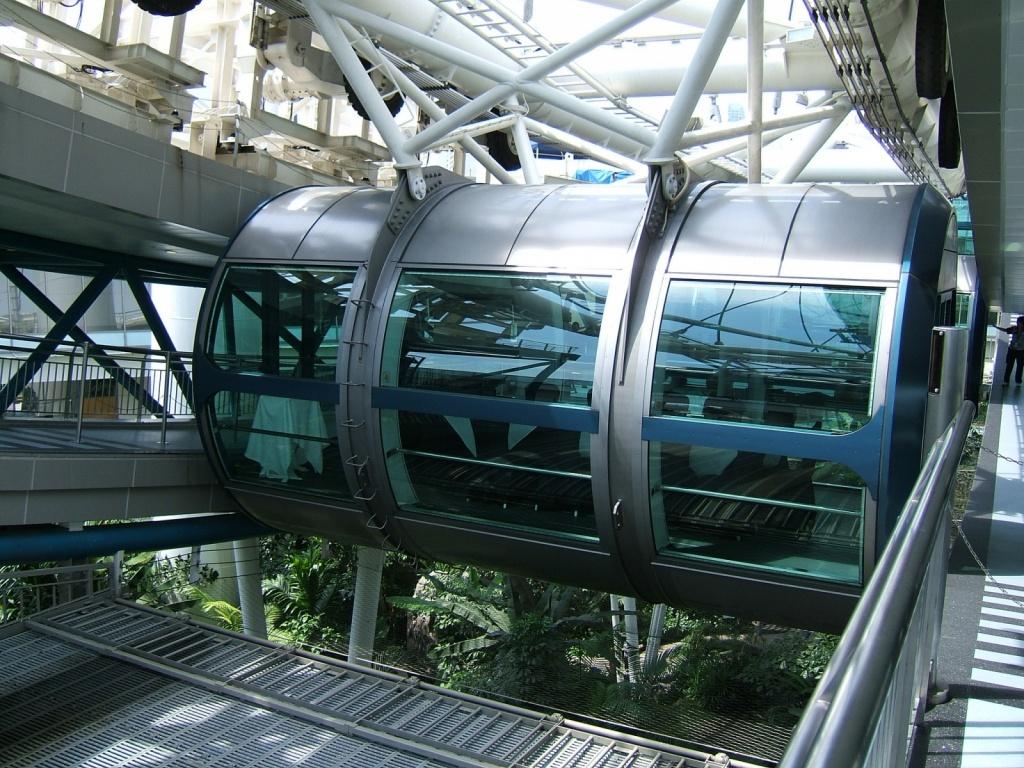 Пассажирская кабинка. Автор: oldandsolo. Фото:  www.flickr.com