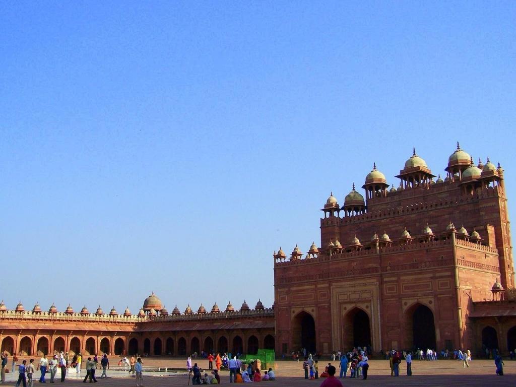 Ворота Буланд Дарваза. Автор: soham_pablo. Фото:  www.flickr.com