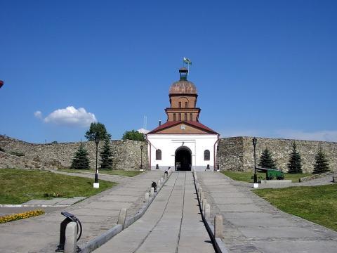 Кузнецкая крепость. Автор: Костин Владимир.