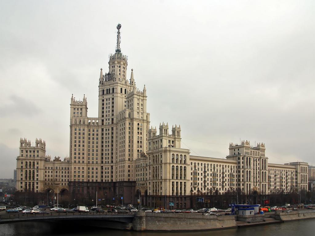 Дом на Котельнической набережной   Фото:  moscow-live.ru