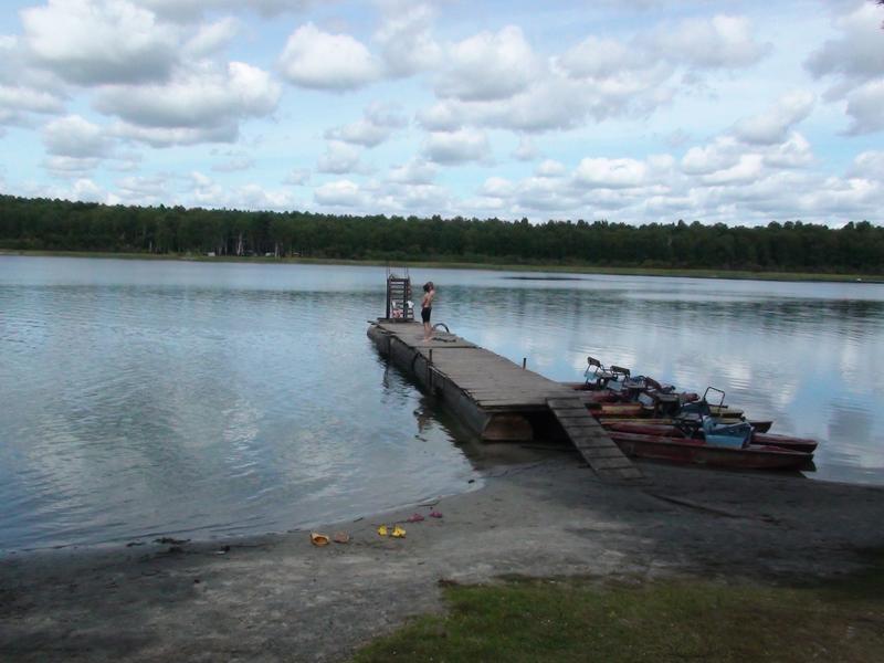 Пристань на озере. Фото: www.panoramio.com
