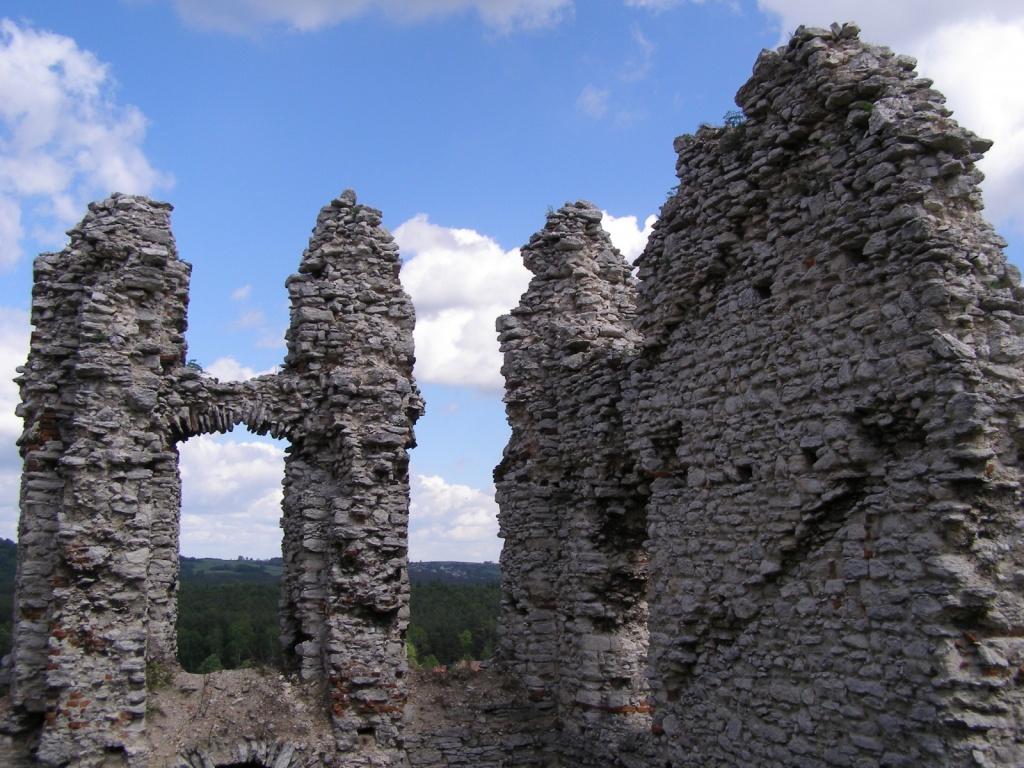 Руины рыцарского замка в Рабштыне. Автор: magro_kr. Фото:  www.flickr.com