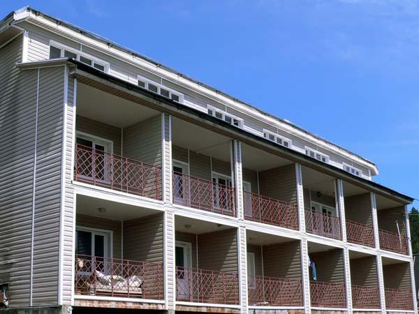 Балконы с видом на Телецкое озеро