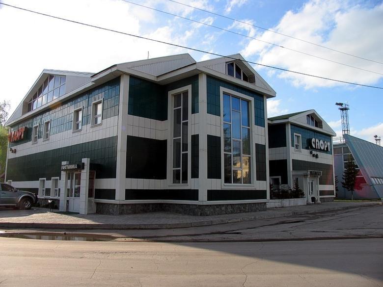 Фасад комплекса. Фото: www.kristall.myberdsk.ru