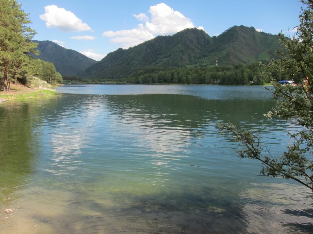 Чемальское водохранилище. Фото:  Obakeneko