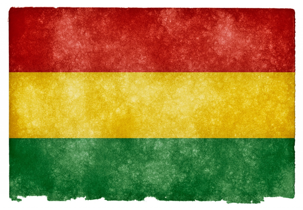Флаг Боливии. Автор: Free Grunge Textures - www.freestock.ca. Фото:  www.flickr.com