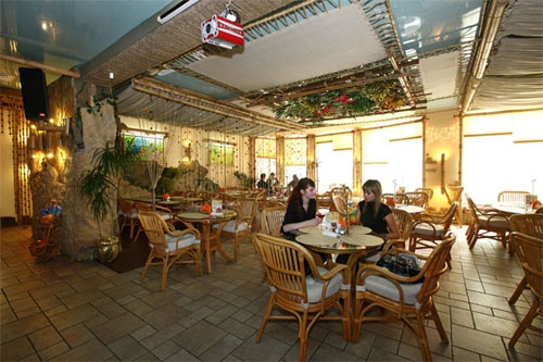 Кафе «Баунти». Фото: www.hotel-albatros.ru