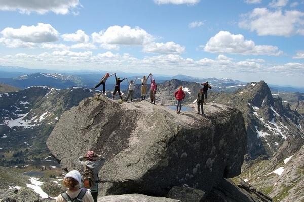Высоко в горах можно дотянуться до облаков