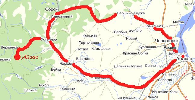 Схема проезда. Фото: www.aizas.ru