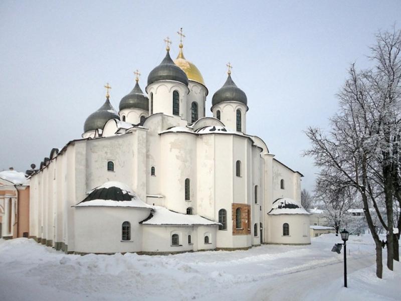 Софийский собор. Автор: Б.А. Рощупкин Фото:  novgorodmuseum.ru