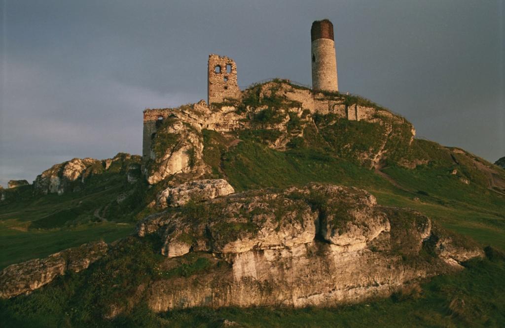 Руины Замка в Ольштыне. Автор: Jerzy Strzelecki. Фото:   wikipedia.org
