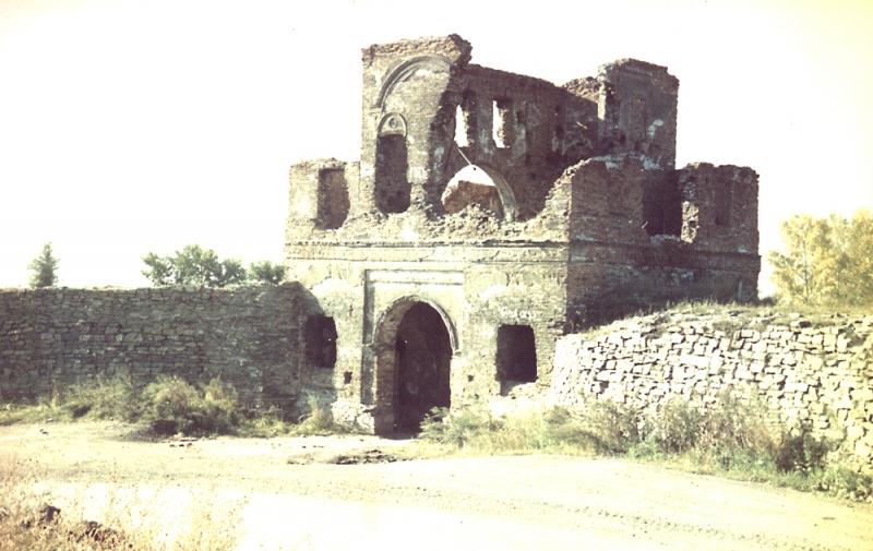 <Крепость после сожжения в 1919г. Фото: rusmilestones.ru