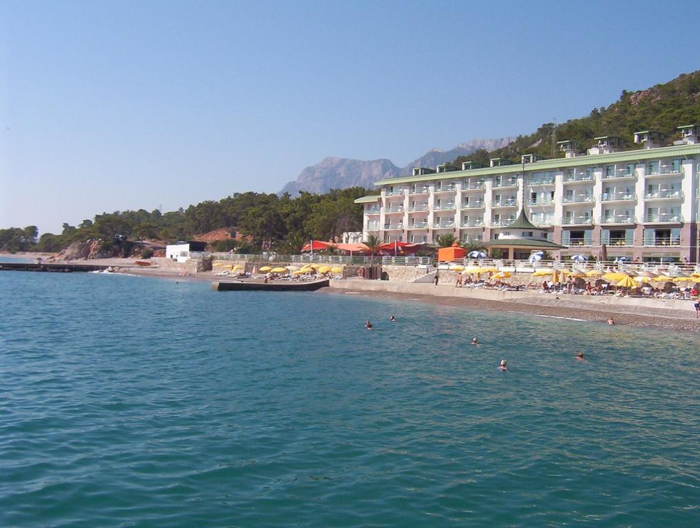 Пляж одного из отелей. Фото:  Тонкости туризма