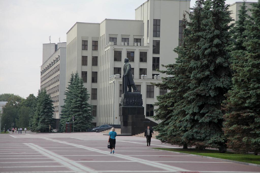 Здание парламента Белоруссии. Фото:  Maks Karochkin