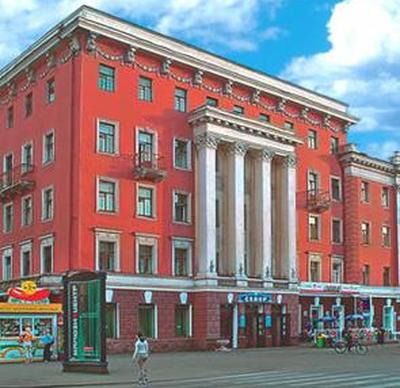 Гостиница «Север». Фото: sever.krasland.ru