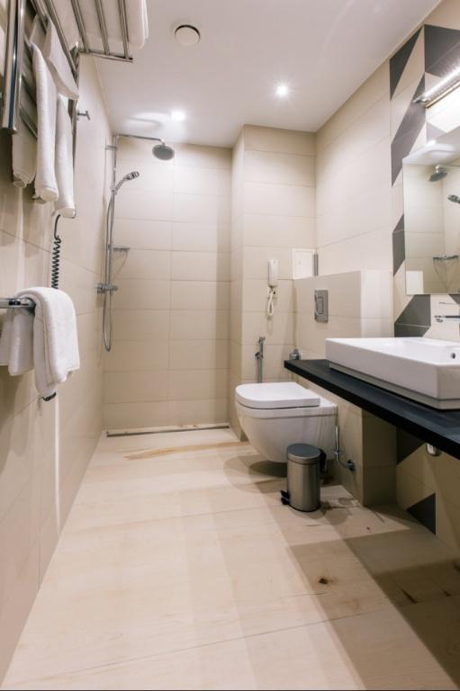 Ванная комната в каждом номере