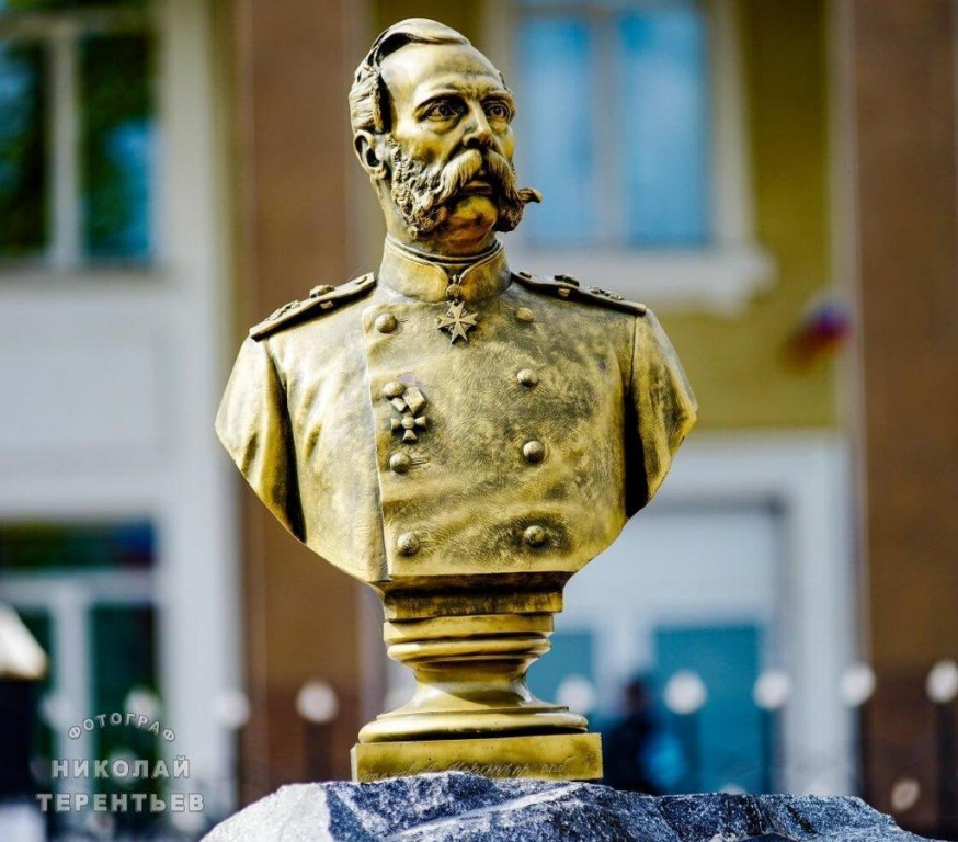 Бюст императору  Александру II