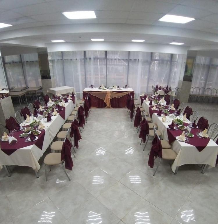 Новый банкетный зал, открыт в 2020 году