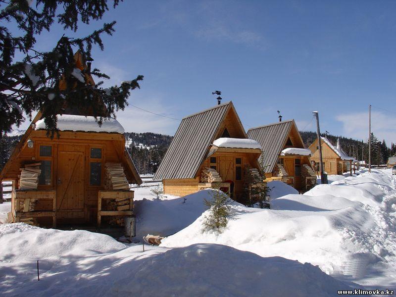 Гостевые домики. Фото: klimovka.kz