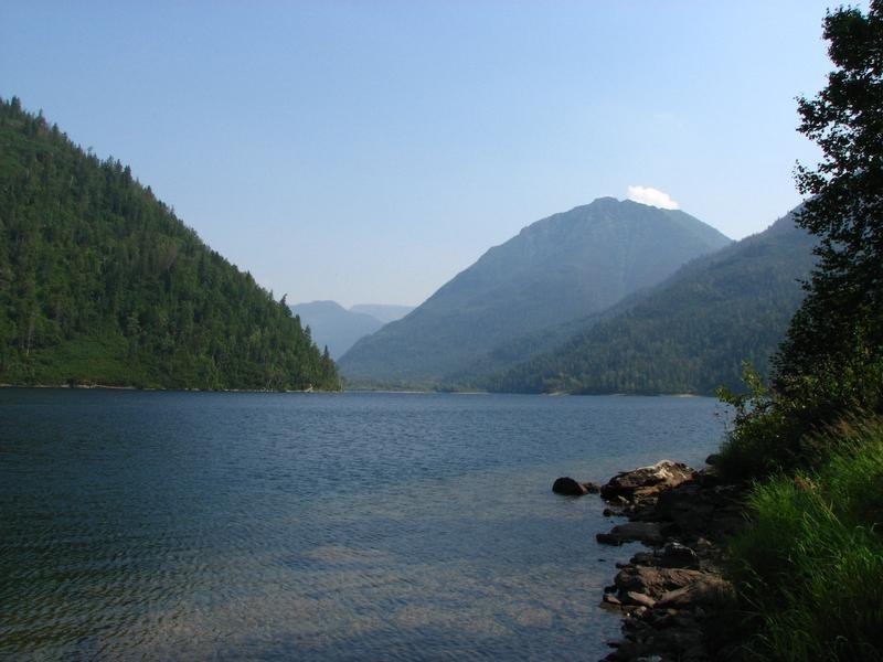 Соболиное озеро.  Фото: Емелин Денис