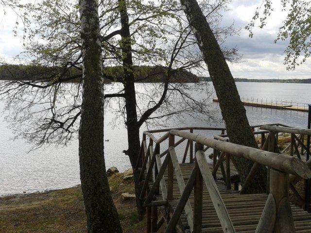 Вид на озеро Еловое
