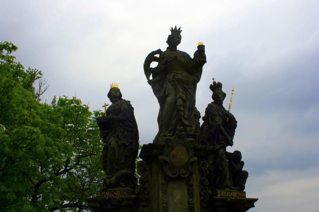 св. Варвара, св. Маргарита и св. Елизавета. Автор: Abeeeer. Фото:  www.flickr.com