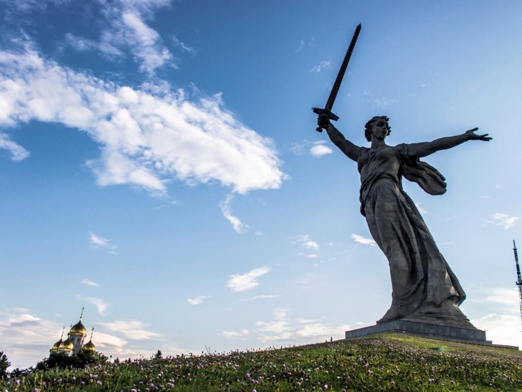 Монумент «Родина-мать зовет!». Автор: Christiaan Triebert. Фото:  www.flickr.com