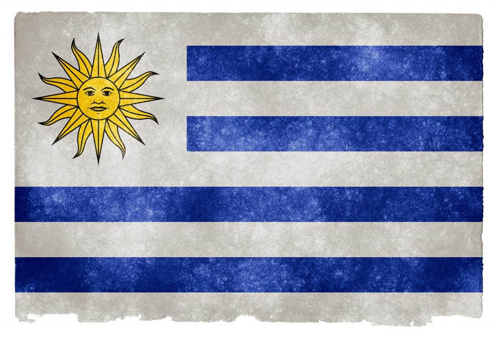 Флаг Уругвая. Автор: Free Grunge Textures - www.freestock.ca. Фото:  www.flickr.com