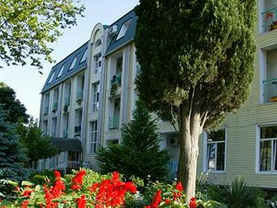 Отель «Салют». Фото: www.hotelsalut.narod.ru