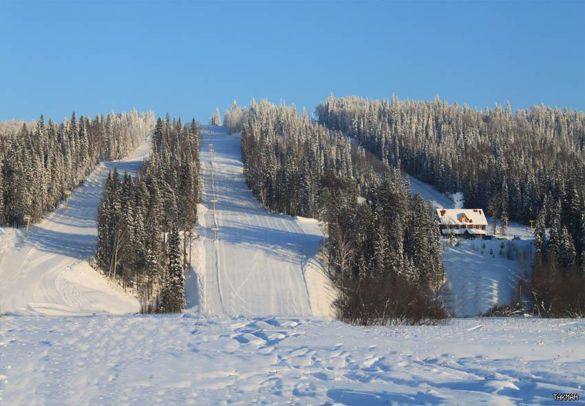 Трассы курорта «Такман». Фото: takman-ski.ru