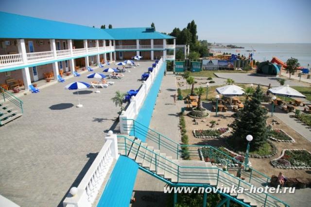 Терраса. Фото: www.novinka-hotel.ru