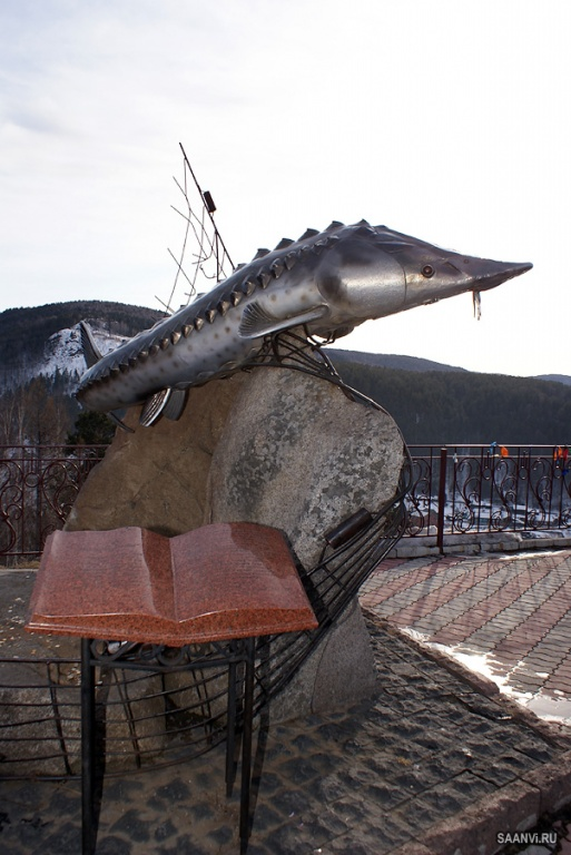 Смотровая площадка «Царь-рыба». Автор: Анатолий Савенков. Фото с сайта:  saanvi.ru