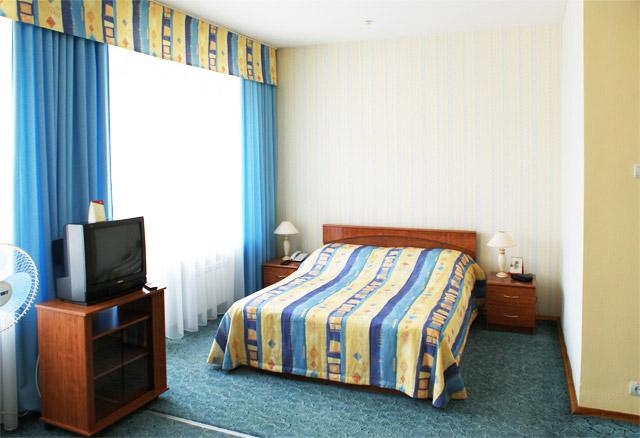 Студия. Фото: www.hoteloctober.ru