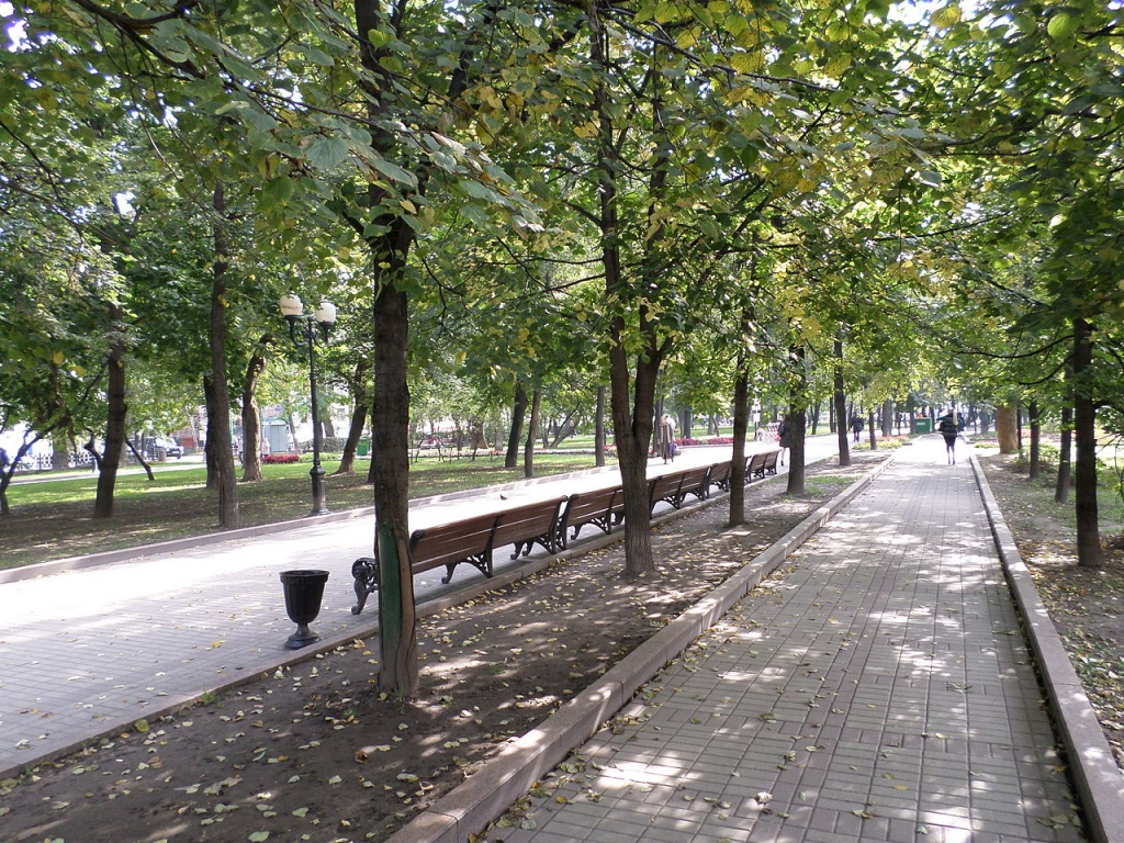 Чистопрудный бульвар. Автор: SergeyStepykin. Фото:  www.en.wikipedia.org